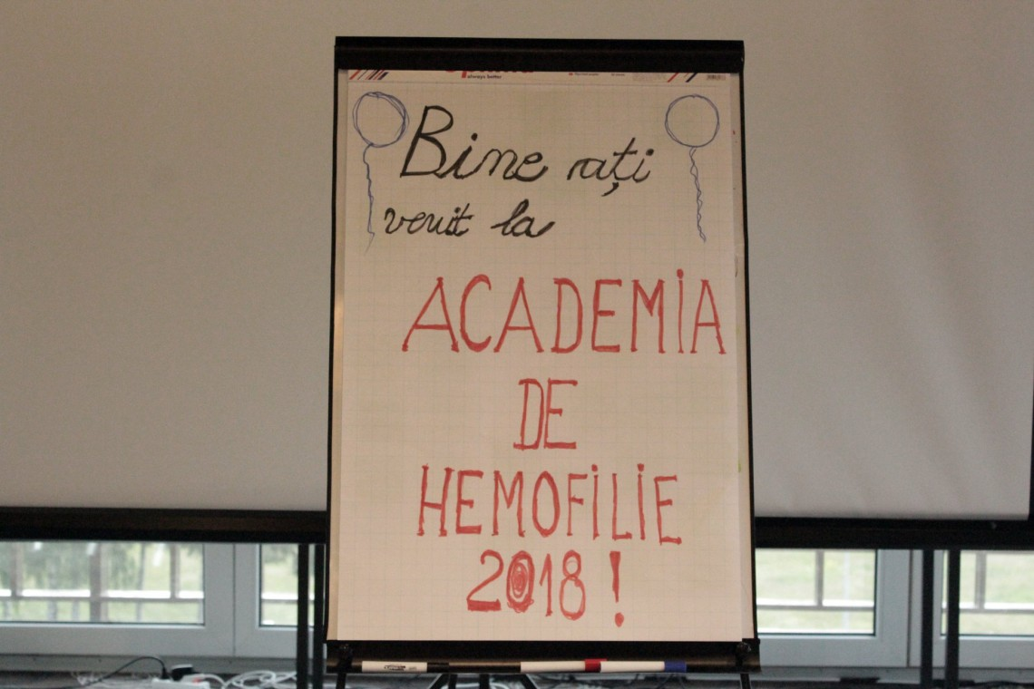 Academia de Hemofilie, ediția a IV – a, 2018